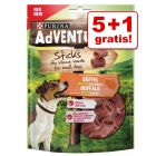 5 + 1 gratis! 6 Purina AdVENTuROS