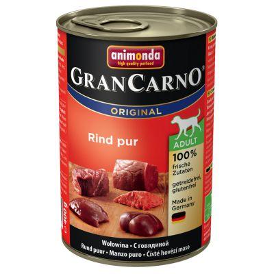 10 + 2 gratis! 12 x 400 g Animonda GranCarno Original