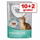10 + 2 gratis! 12 x 85 g Concept for Life