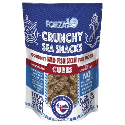 2 + 1 gratis! 3 x 50 g Forza 10 Crunchy Sea Snacks