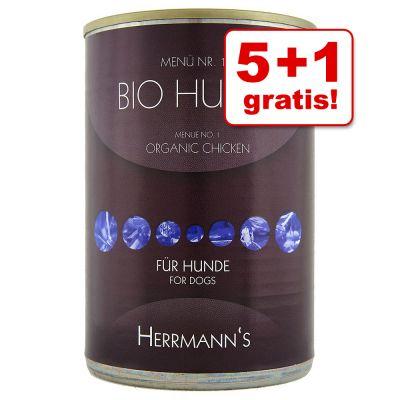 5 + 1 gratis! 6 x 400 g Herrmanns Menù