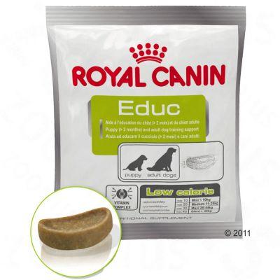 2 + 1 gratis! 3 x 50 g Snack Royal Canin Educ