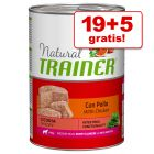 19 + 5 gratis! 24 x 400 g Trainer Natural