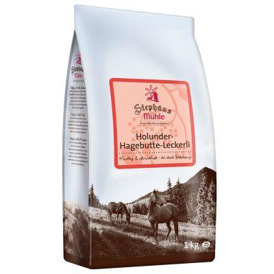 2 + 1 gratis! 3 x 1 kg / 600 g Stephans Mühle Pferdeleckerlis
