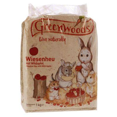 Greenwoods Foin de prairie pour rongeur et lapin