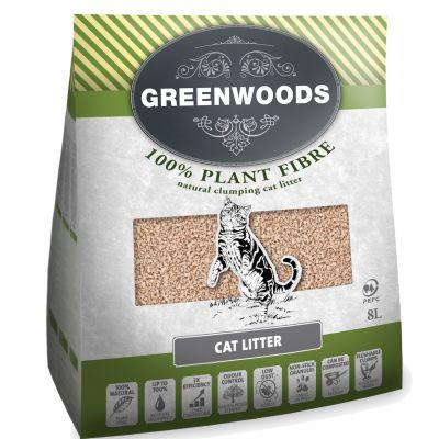 Greenwoods Natural Clumping Litter