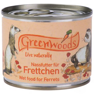 Greenwoods Natvoer voor Fretten