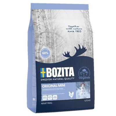 Großgebinde Bozita Naturals + 200 g Dokas Kausnack gratis!