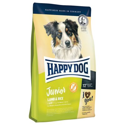 Großgebinde Happy Dog Supreme Fit & Well + Kuscheldecke gratis!