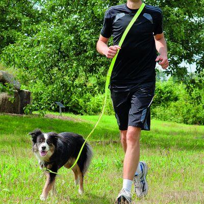 Guinzaglio per jogging Trixie Flash USB