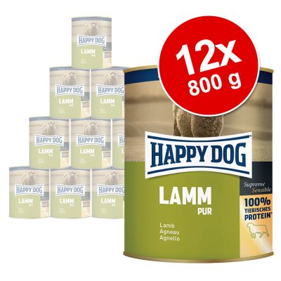 Happy Dog Pur 12 x 800 g