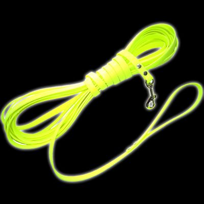 Heim in Biothane®  Guinzaglio da ricerca - giallo neon