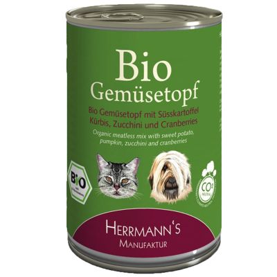 Herrmanns Bio Piatto di Verdure - complemento 400 g