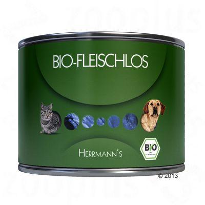 Herrmann's Premiumpaket: Bio Reisflocken und Nassfutter