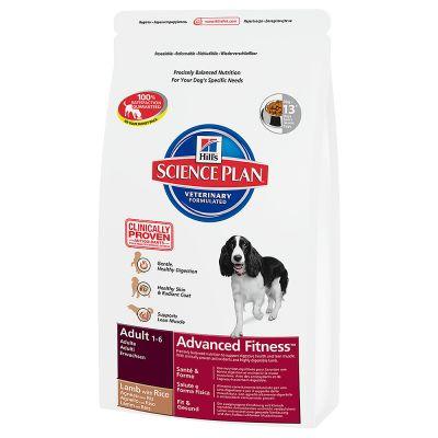 Hill's Canine Adult Advanced Fitness - Lam & Rijst