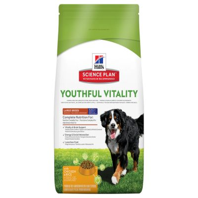Hill's Canine 5+ Youthful Vitality Large Breed with Chicken & Rice