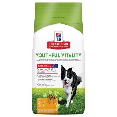 Hill's Canine 7+ Youthful Vitality Medium Pollo & Riso