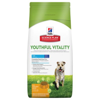 Hill's Canine 7+ Youthful Vitality Mini with Chicken & Rice