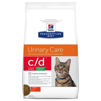 Hill's c/d Reduced Calorie Prescription Diet Feline - secco Pollo
