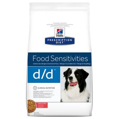 Hill's d/d Prescription Diet Canine secco Salmone & Riso