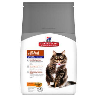 Hill's Feline Mature Adult 7+ Hairball Control