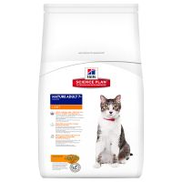 Hill's Feline Mature Adult 7+ Light Huhn
