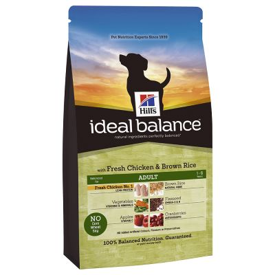 Hill's Ideal Balance Canine Adult - Chicken & Brown Rice