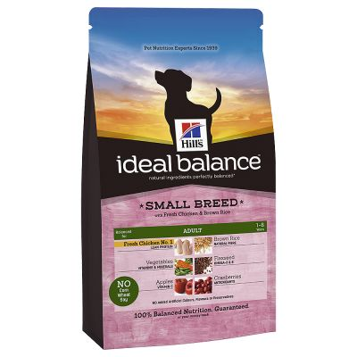 Hill's Ideal Balance Canine Adult Small Breed - Chicken