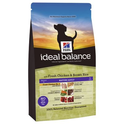 Hill's Ideal Balance Canine Mature - Chicken & Brown Rice