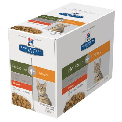 Hill's Metabolic + Urinary Prescription Diet Feline umido