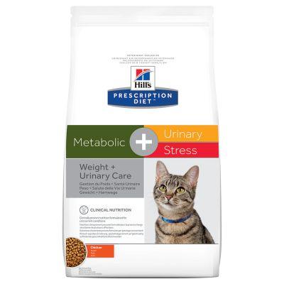 Hill's Metabolic + Urinary Stress Prescription Diet Feline secco