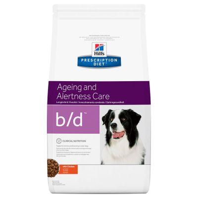 Hill's Prescription Diet b/d Ageing and Alertness Care Hundefutter mit Huhn