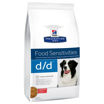 Hill's Prescription Diet Canine D/D Allergy & Skin Care Zalm & Rijst Hondenvoer