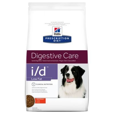 Hill´s Prescription Diet Canine I/D Digestive Care Low Fat Hondenvoer met Kip
