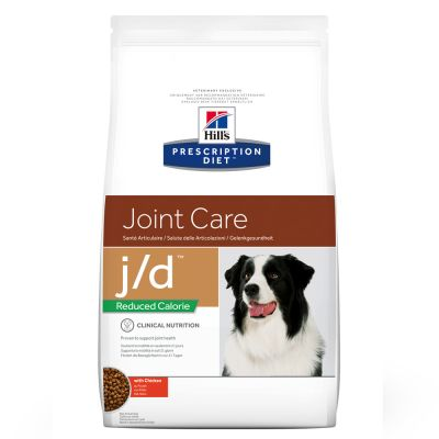 Hill´s Prescription Diet Canine J/D Joint Care Reduced Calorie Hondenvoer met Kip