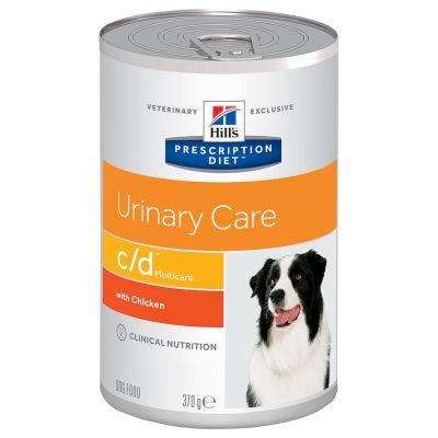 Hill's Prescription Diet c/d Multicare Urinary Care Hundefutter mit Huhn