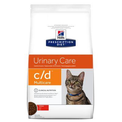 Hill's Prescription Diet c/d Multicare Urinary Care secco per gatti - Pollo