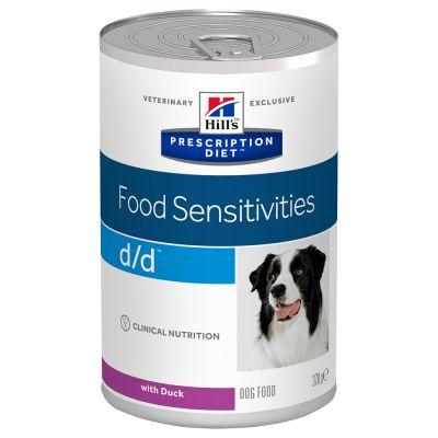Hill's Prescription Diet d/d Food Sensitivities Hundefutter 12 x 370 g