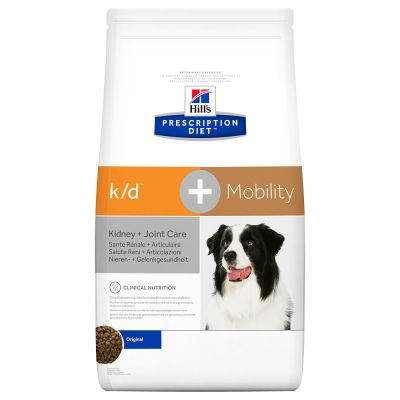Hill's Prescription Diet k/d + Mobility Kidney + Joint Care Hundefutter Original