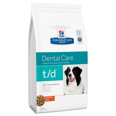 Hill's Prescription Diet t/d Dental Care Hundefutter mit Huhn