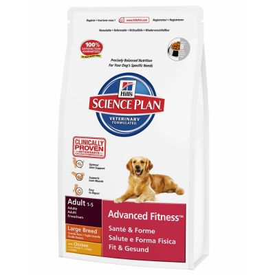 Hill's Science Plan Adult Advanced Fitness Large Breed - Kip