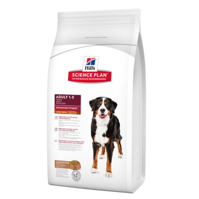 Hill's Science Plan Adult 1-6 Advanced Fitness Large Breed mit Lamm & Reis Hundefutter