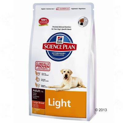 Hill's Science Plan Adult Light Large Breed - Kip