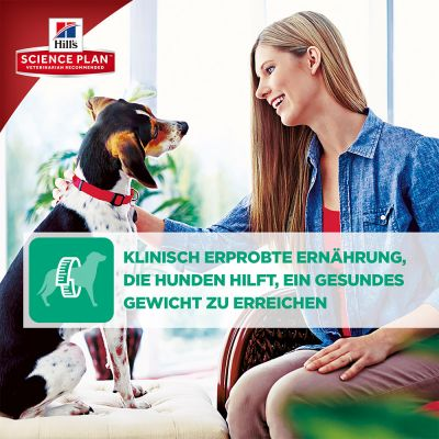Hill's Science Plan Adult 1-6 Perfect Weight Large Breed mit Huhn Hundefutter