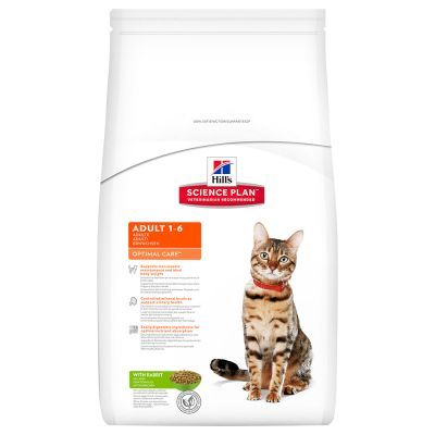 Hill's Science Plan Feline Optimal Care Coniglio