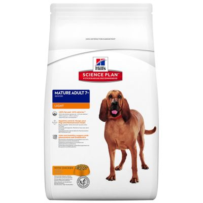 Hill's Science Plan Mature Adult 7+ Active Longevity Light mit Huhn Hundefutter