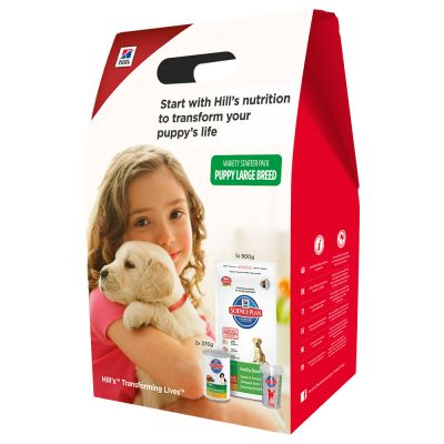 Hill's Science Plan Puppy Medium Starter Kit mit Messbecher Hundefutter
