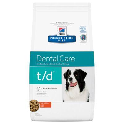 Hill's t/d Prescription Diet Canine Dental Care secco