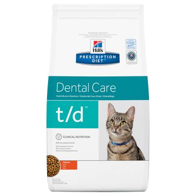 Hill's t/d Prescription Diet Feline - secco