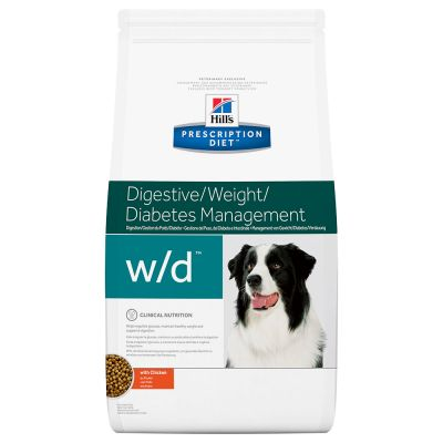 Hill's  w/d Prescription Diet Canine secco